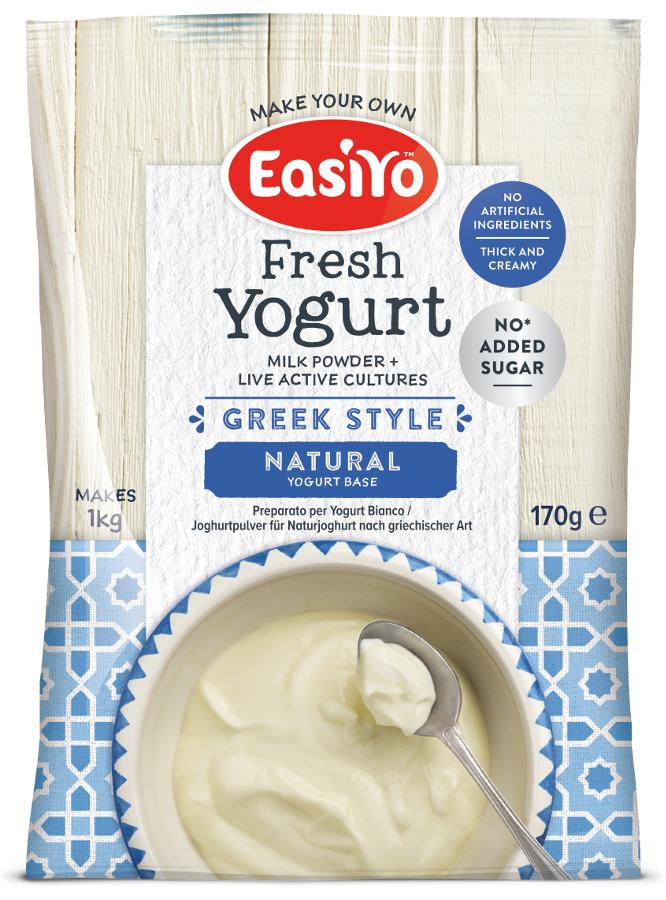 Easiyo Greek Style Natural Yoghurt - 170g