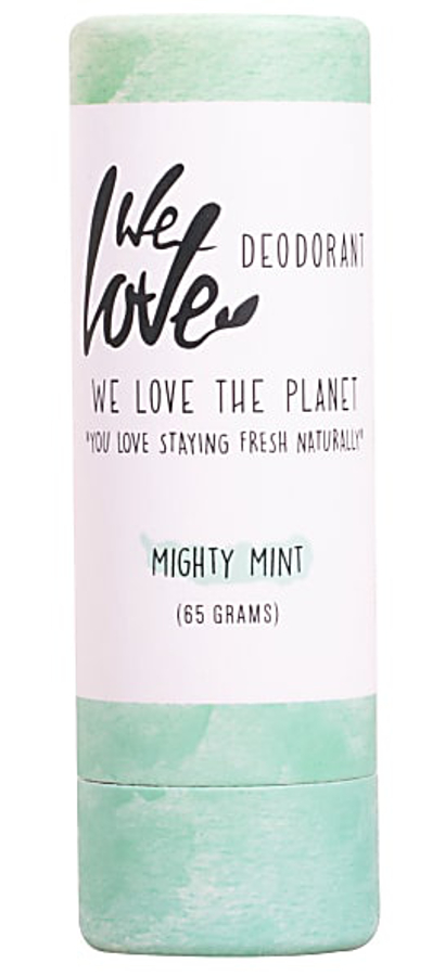 We Love the Planet Natural Deodorant Stick - Mint - 65g