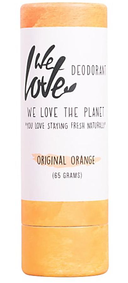 We Love the Planet Natural Deodorant Stick - Orange - 65g