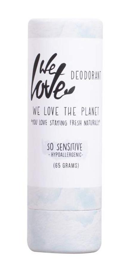 We Love the Planet Natural Deodorant Stick - Sensitive - 65g