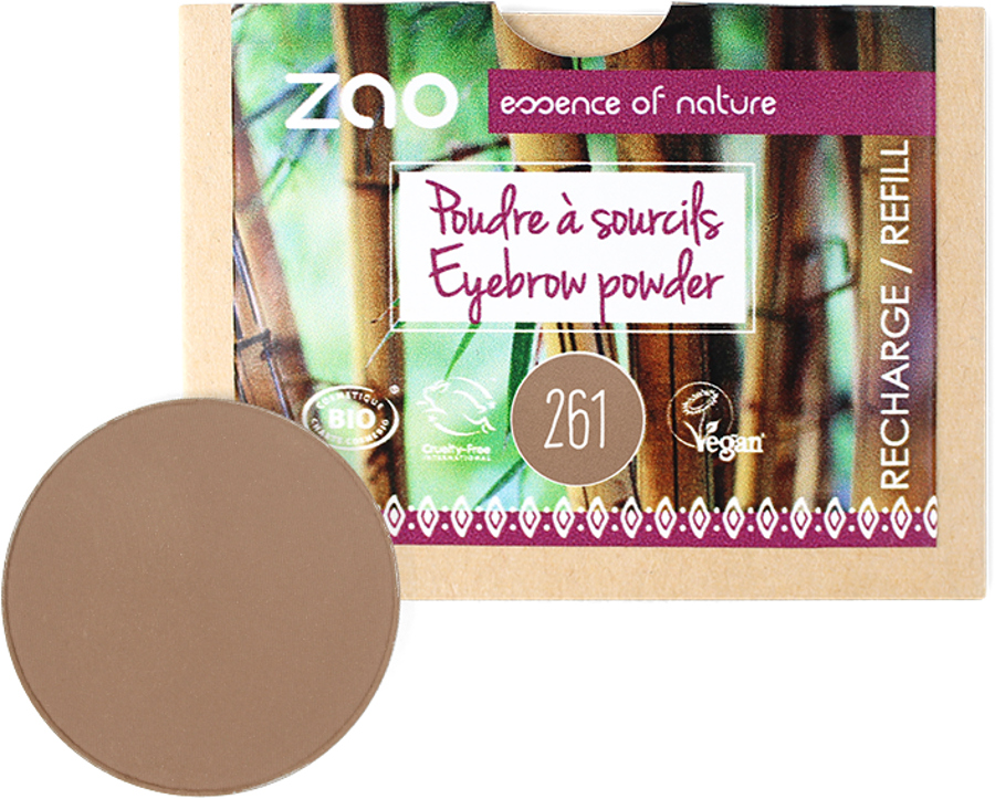 Zao Eyebrow Powder Refill - 3g