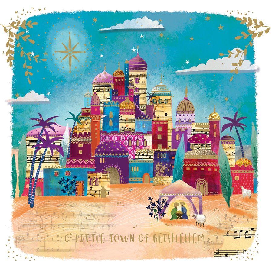 Bethlehem Charity Christmas Cards Pack Of 10 Natural Collection Select