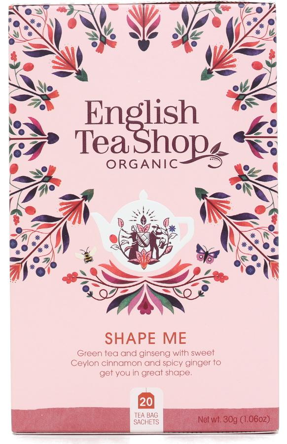 English Tea Shop Organic Shape Me Tea - 20 Tea Bags