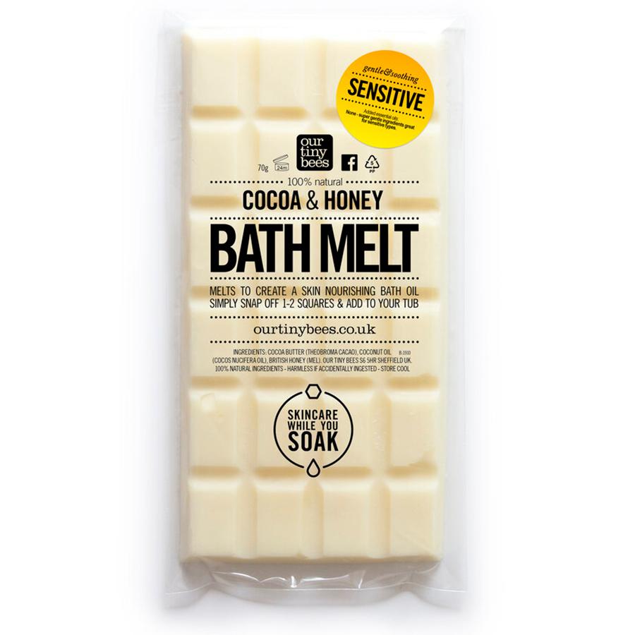 Our Tiny Bees Sensitive Bath Melt - 70g