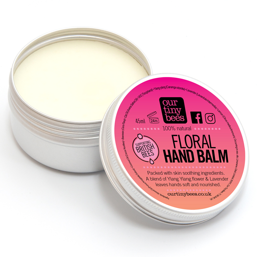 Our Tiny Bees Floral Hand Balm - 45g