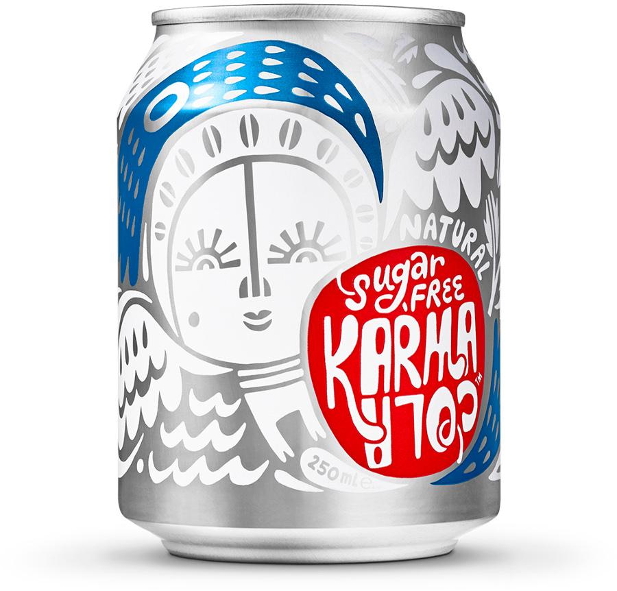 Karma Cola Sugar Free - 250ml