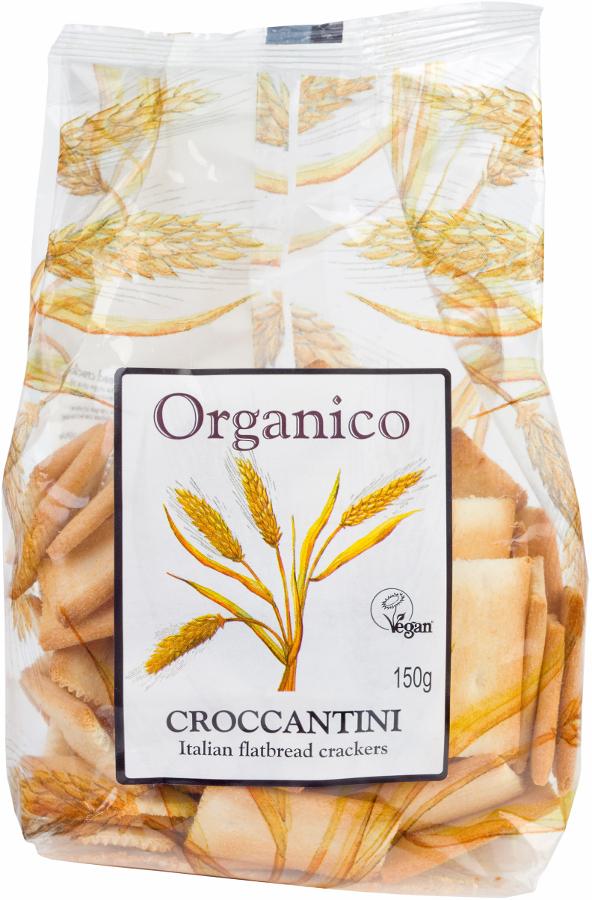 Organico Classic Croccantini Crackers - 150g