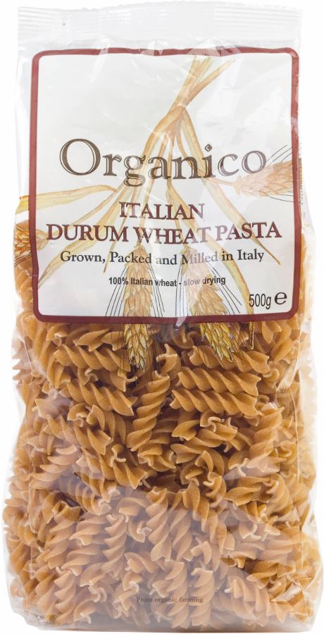 Organico Wholewheat Fusilli - 500g