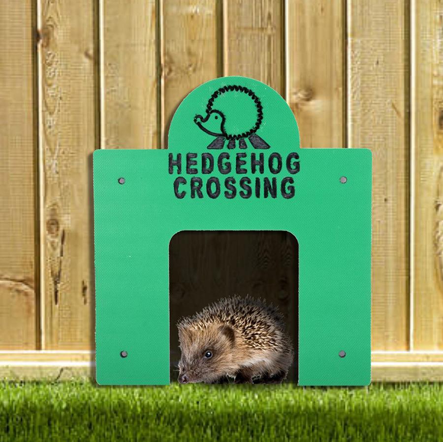 Square Hedgehog Crossing
