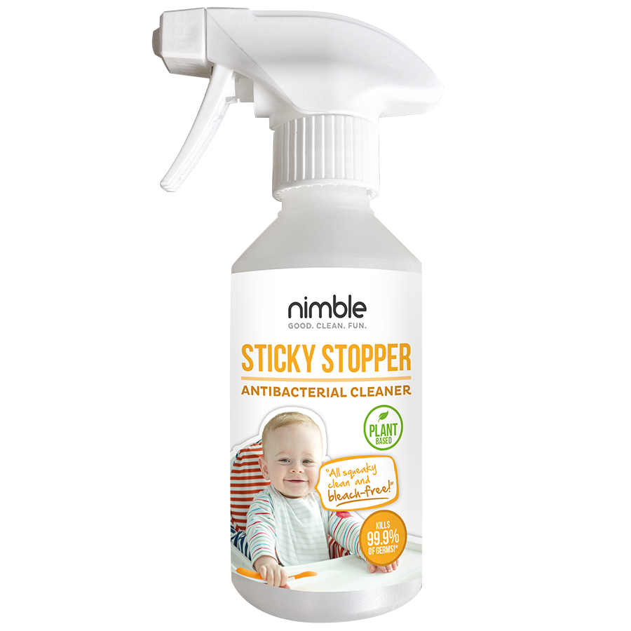 Nimble Sticky Stopper Antibacterial Cleaner - 250ml