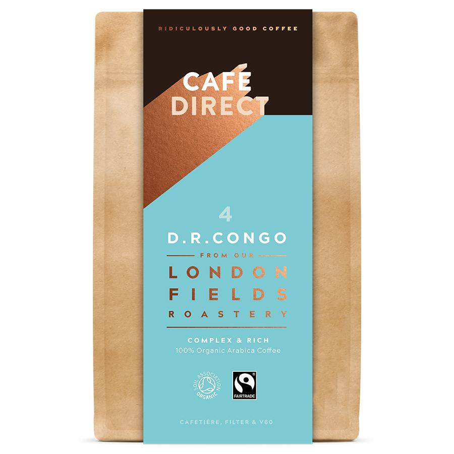 Cafédirect London Fields Congo Organic Ground Coffee - 200g