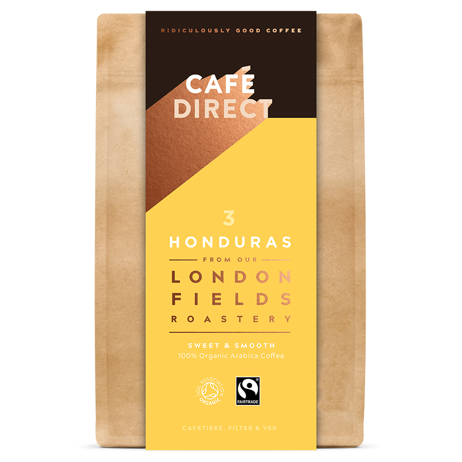 Cafédirect London Fields Honduras Organic Ground Coffee - 200g