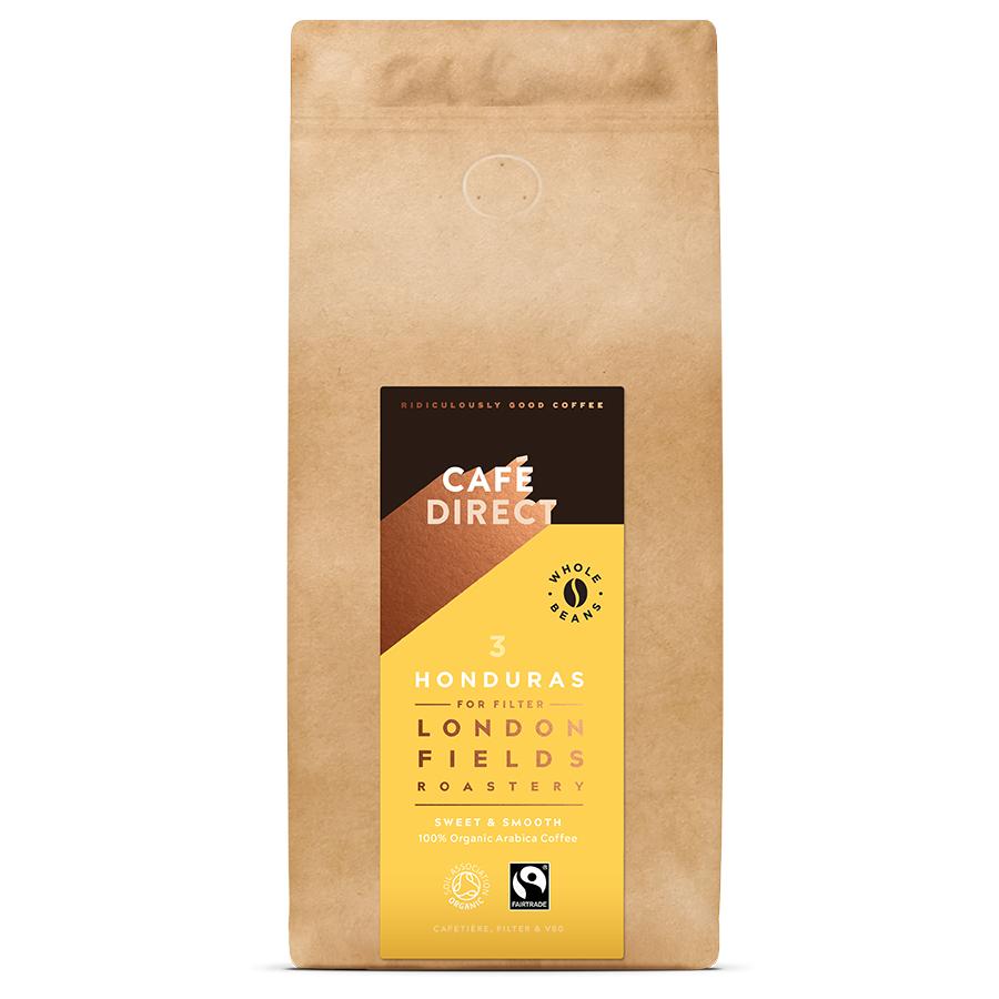Cafédirect London Fields Honduras Organic Coffee Beans - 1kg