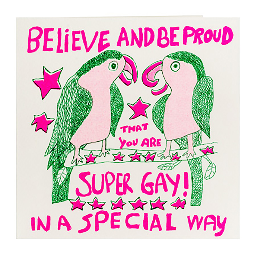 ARTHOUSE Unlimited Believe And Be Proud Charity Card