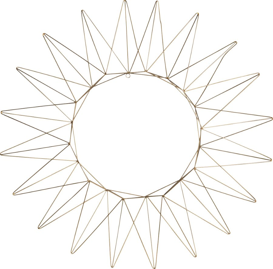 Talina Antique Brass Star - Large