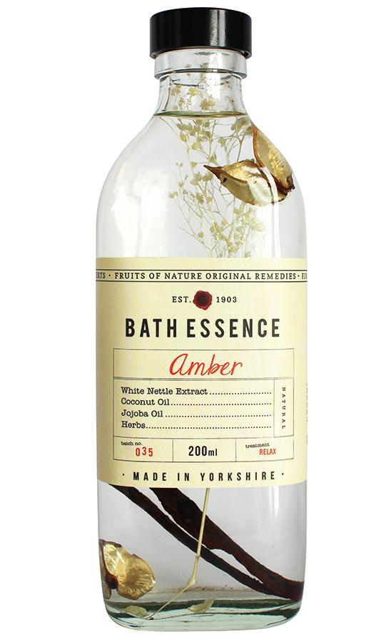 Fruits of Nature Amber Bath Essence - 200ml
