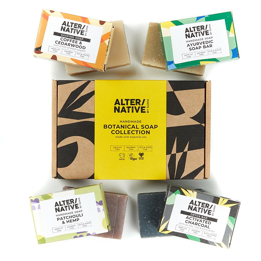 Alternative by Suma Handmade Botanical Soap Gift Set