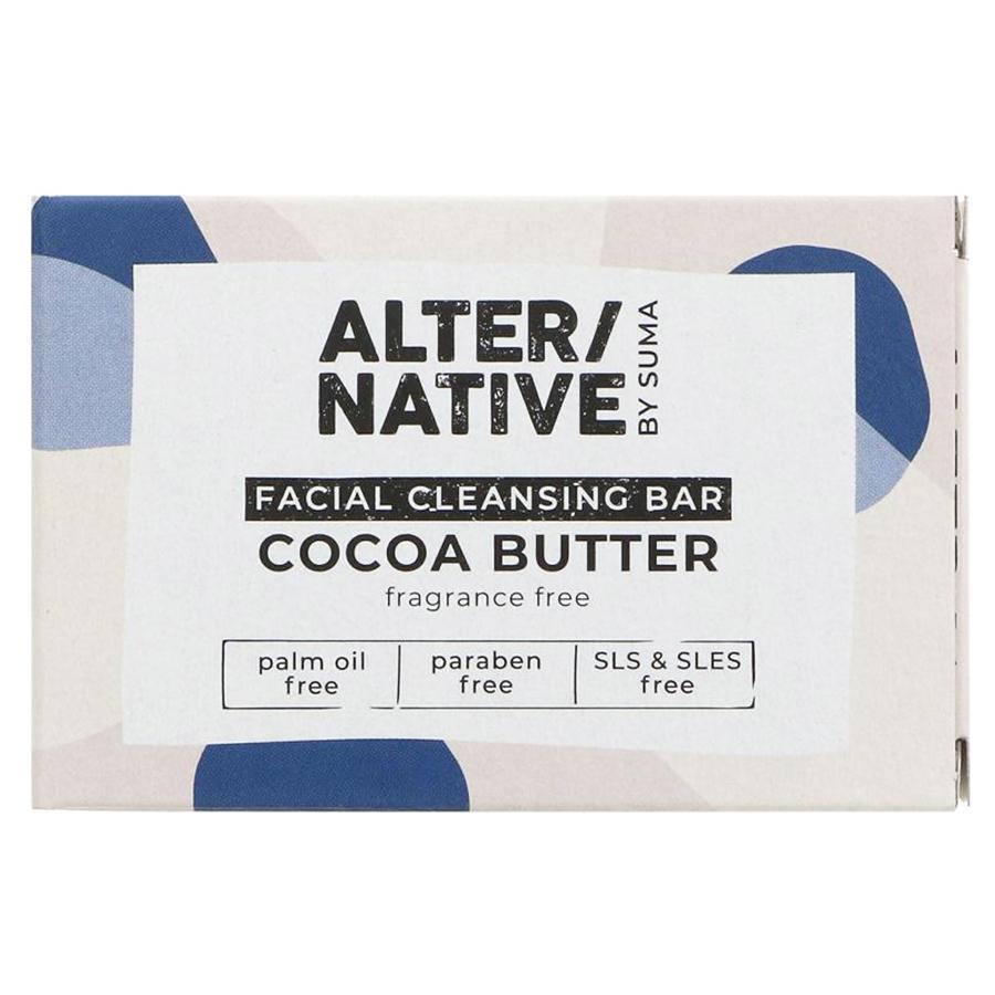 Alternative by Suma Facial Cleansing Soap Bar - 95g