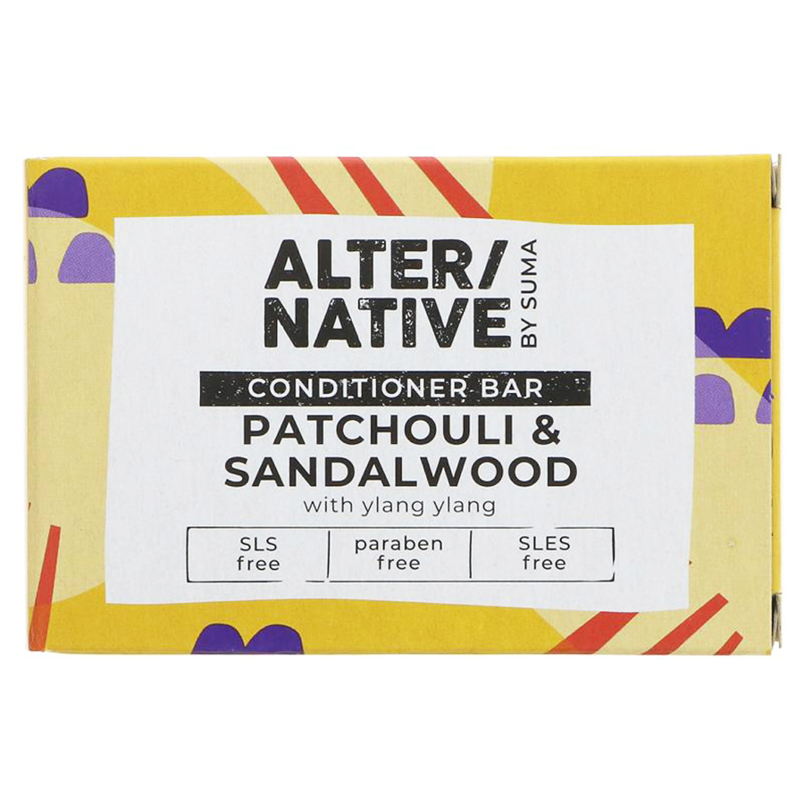 Alternative by Suma Conditioner Bar - Patchouli & Sandalwood - 90g