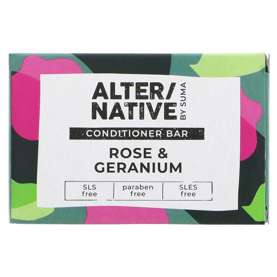 Alternative by Suma Conditioner Bar - Rose & Geranium - 90g