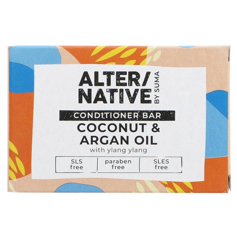 Alternative by Suma Conditioner Bar - Coconut & Argan Oil - 90g