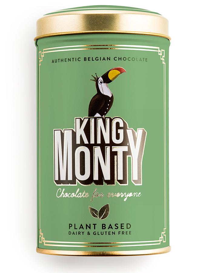 King Monty Hazelnut Crunch Vegan Chocolate Sticks - 130g