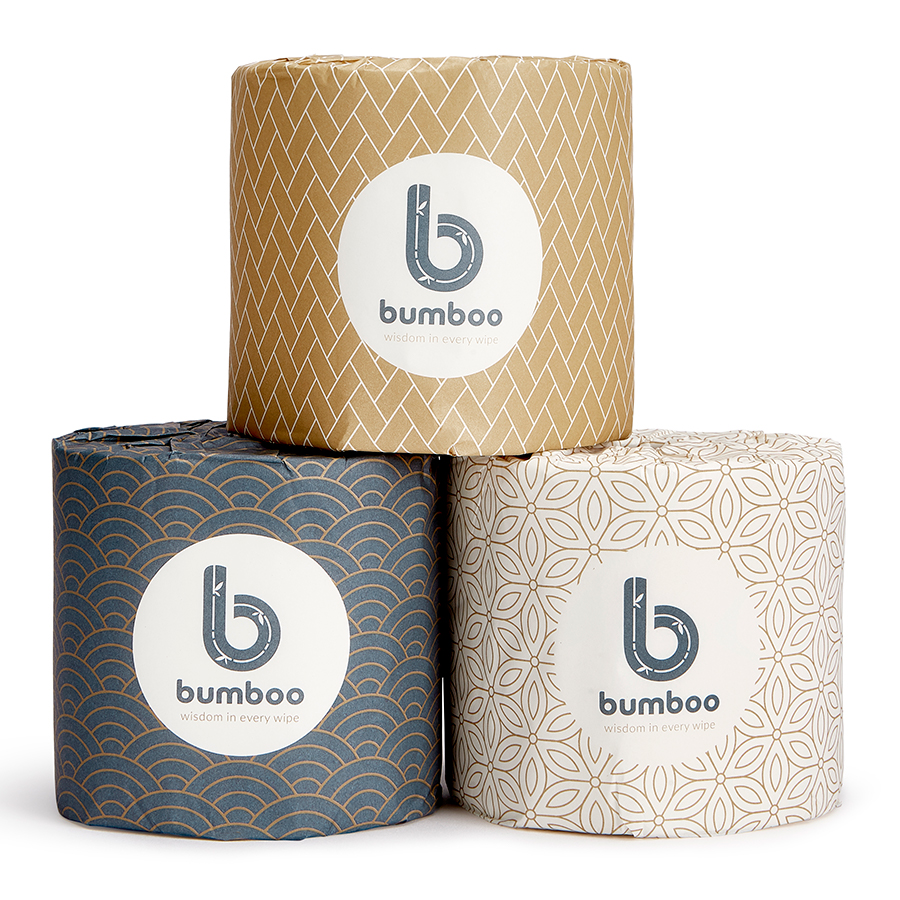 Bumboo Luxury Bamboo Toilet Paper - 48 Extra Long Rolls