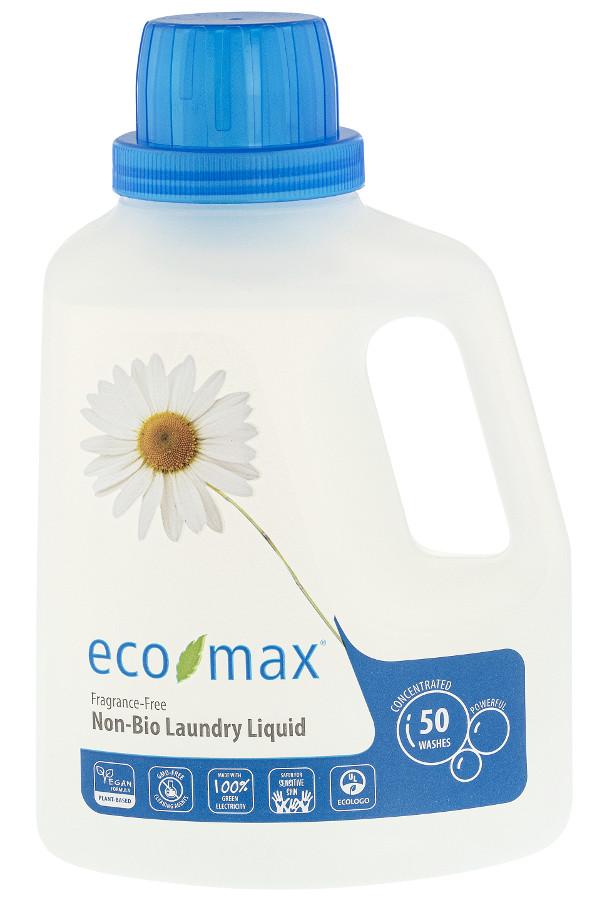 Eco Max Non Bio Laundry Detergent Fragrance Free 1 5l