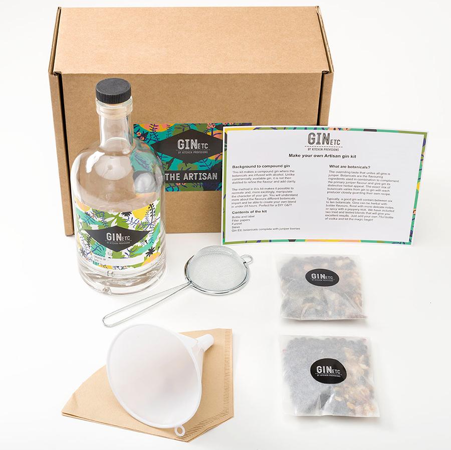 Make Your Own Gin Kit - The Artisan