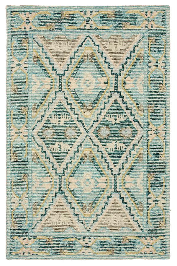 Ashoka Hand Tufted Indian Wool Rug - 150 x 225cm