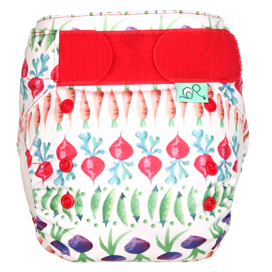 Tots Bots Easyfit Star All-in-One Reusable Nappy - One Two Pea