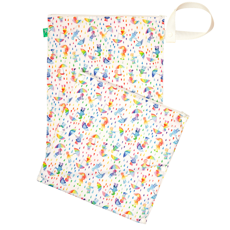 Tots Bots Nappy Wet & Dry Bag - Dilly Dally