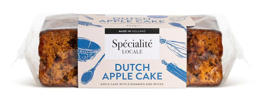 Specialite Locale Vegan Dutch Apple Loaf Cake - 450g