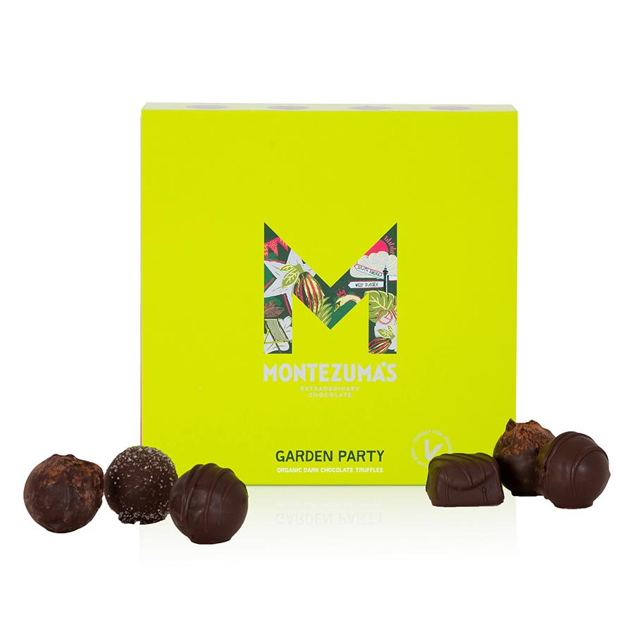 Montezumas Garden Party Organic Vegan Truffle Collection - 205g