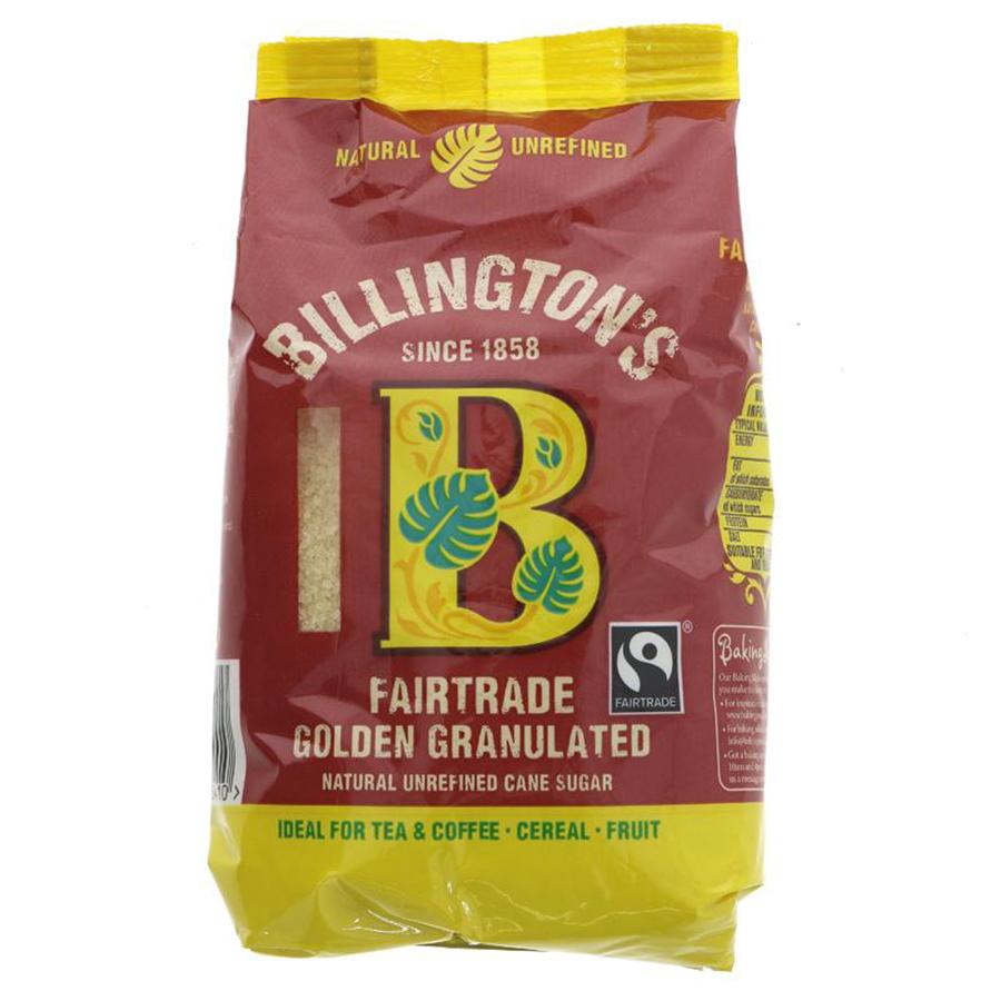 Billingtons Fairtrade Golden Granulated Sugar - 500g