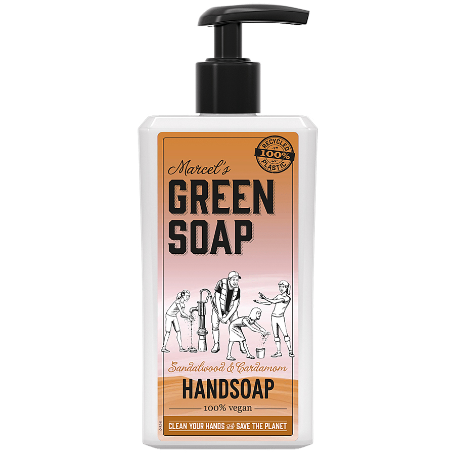Marcels Green Soap Sandalwood & Cardamom Handsoap - 250ml