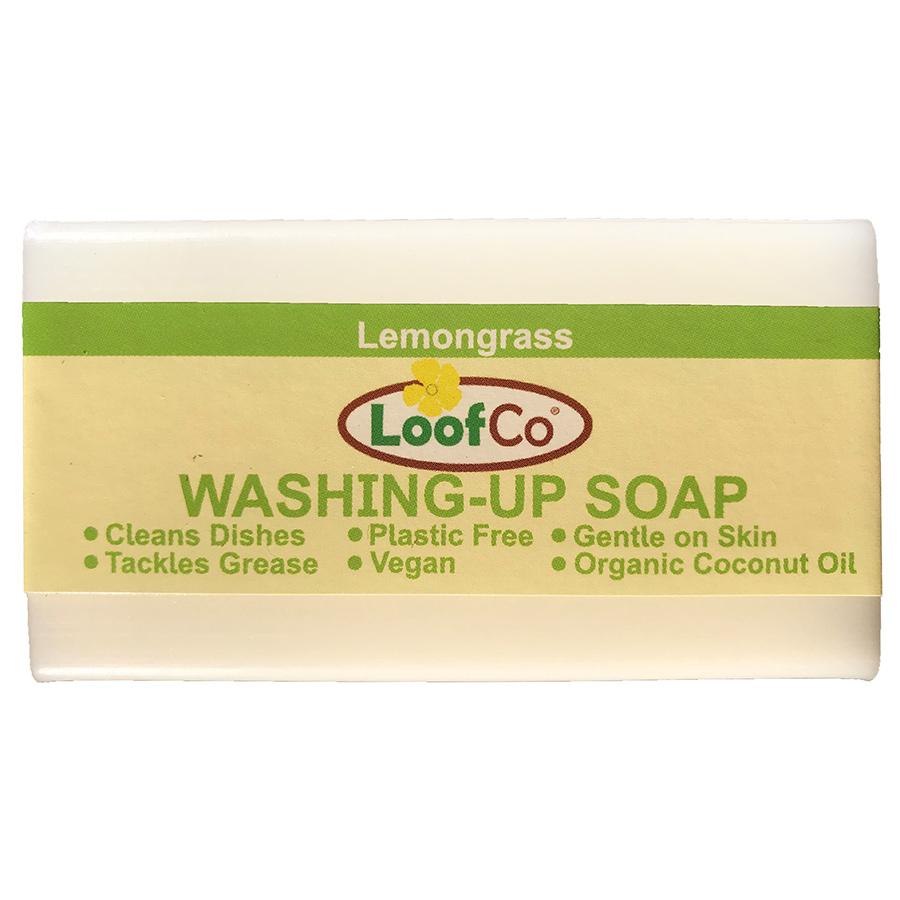 Loofco Lemongrass Washing Up Soap Bar - 100g