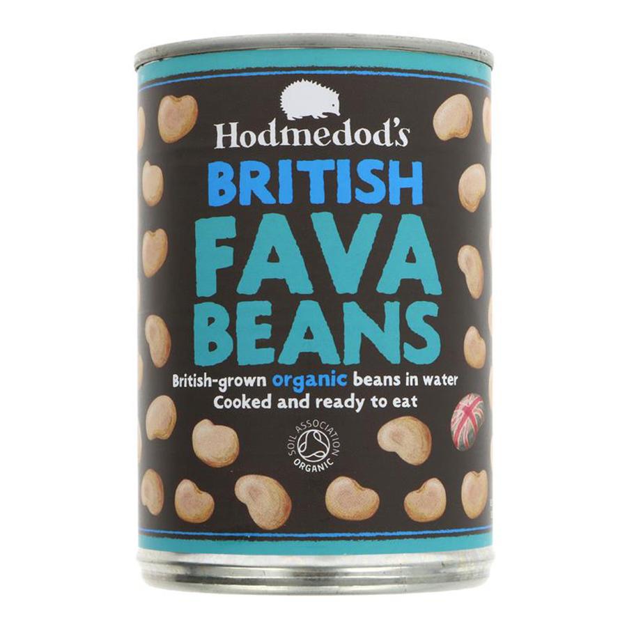 Hodemdods Organic Whole Fava Beans in Water - 400g