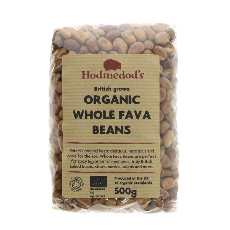 Hodmedods Whole Fava Beans Organic - 500g