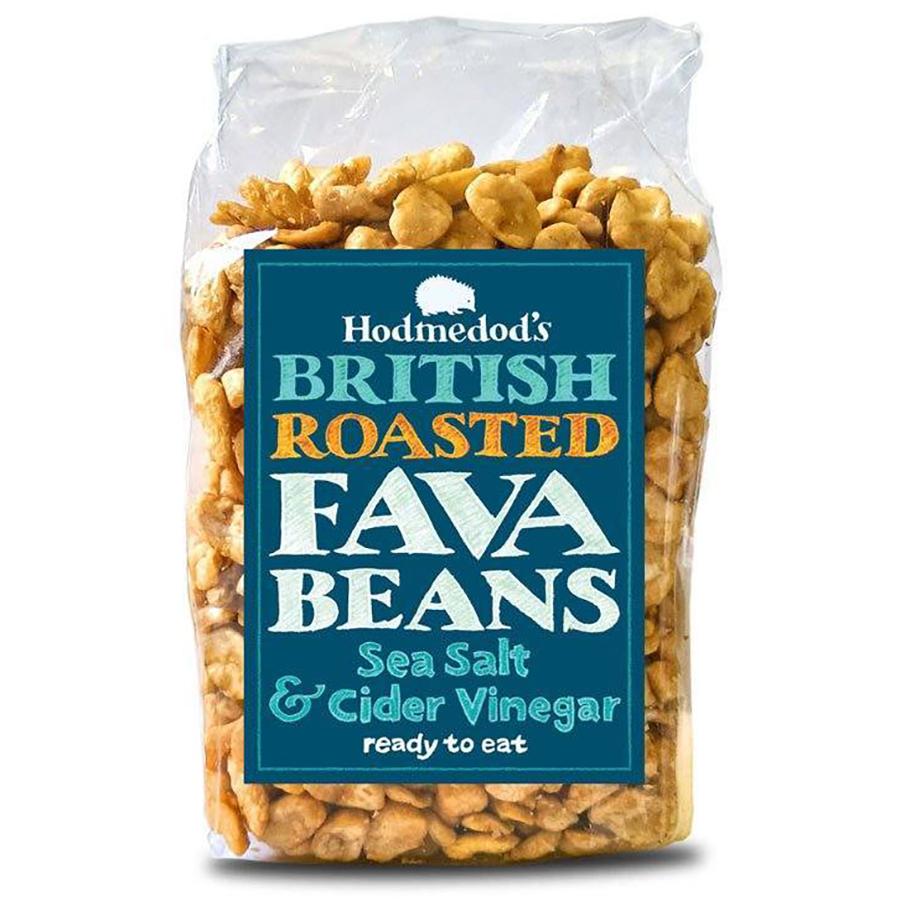 Hodmedods Roast Fava Bean Salt & Vinegar - 300g