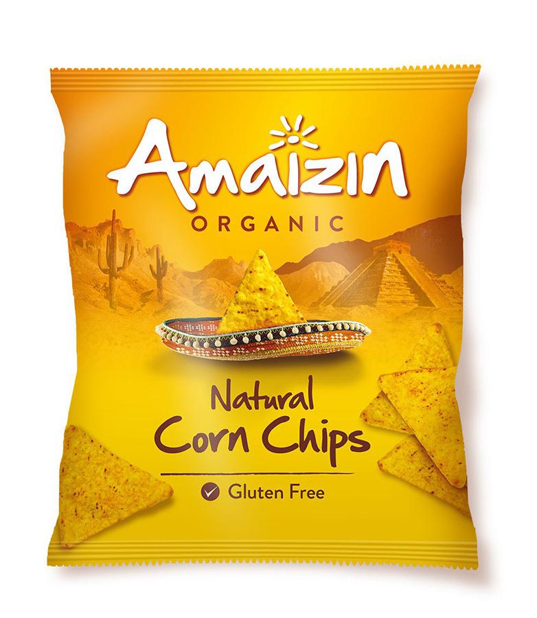Amaizin Natural Corn Chips - 250g
