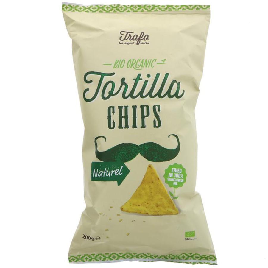 Trafo Natural Organic Tortilla Chips - 200g