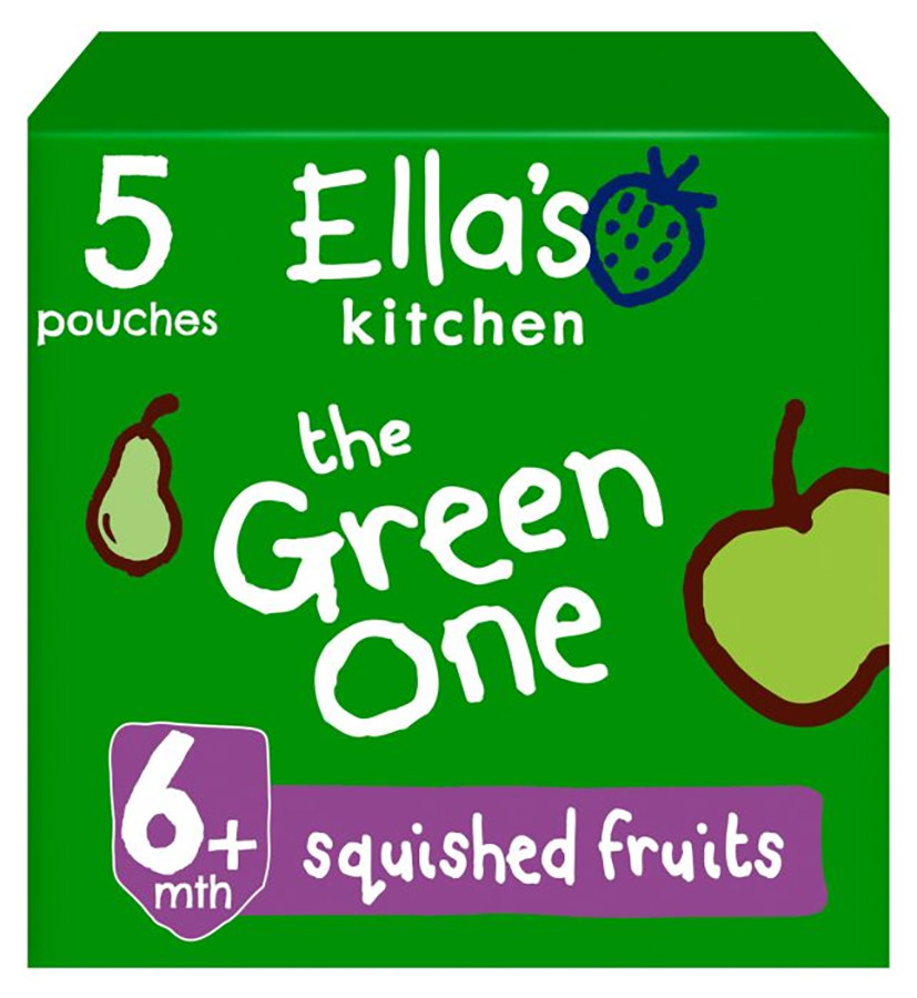 Ella's Kitchen The Green One Multipack - 5 x 90g