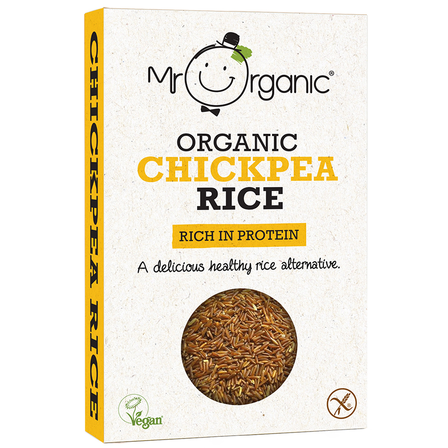 Mr Organic Chickpea Rice -250g