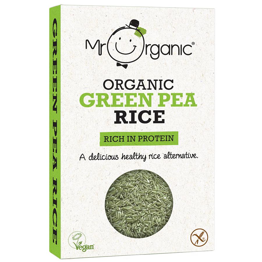 Mr Organic Green Pea Rice -250g