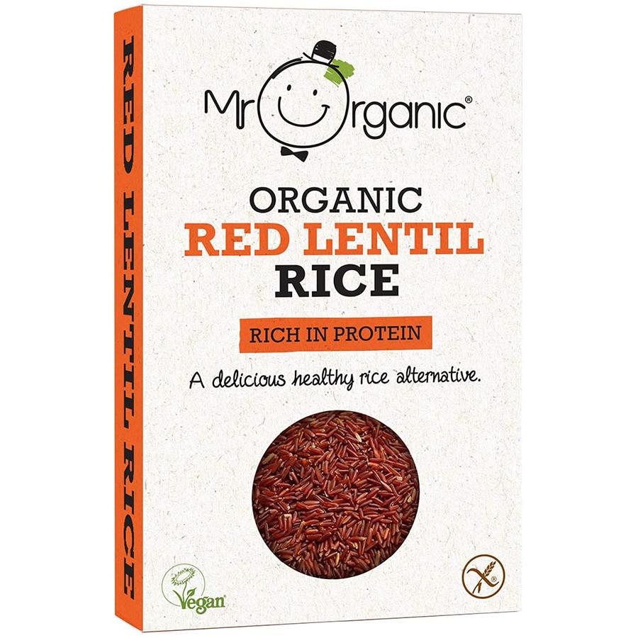 Mr Organic Red Lentil Rice - 250g