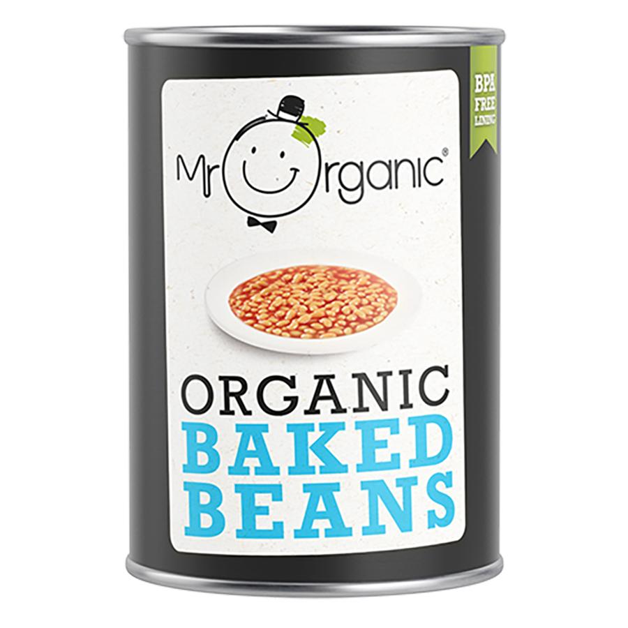 Mr Organic Baked Beans - 400g