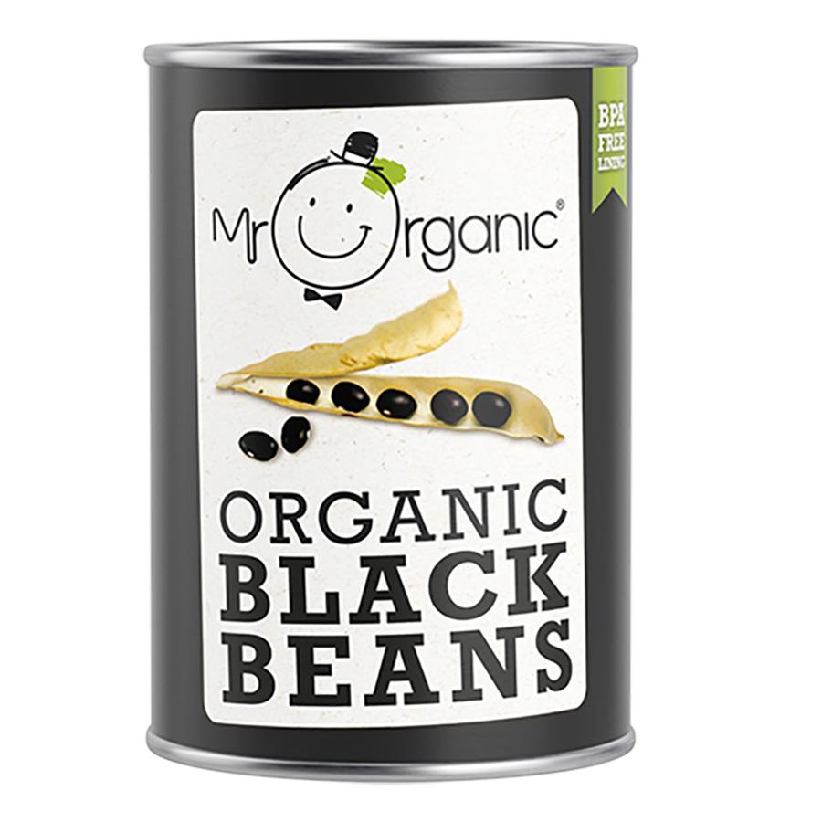 Mr Organic Black Beans - 400g