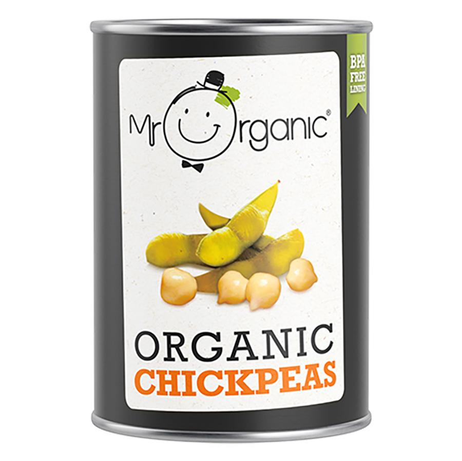 Mr Organic Chickpeas - 400g