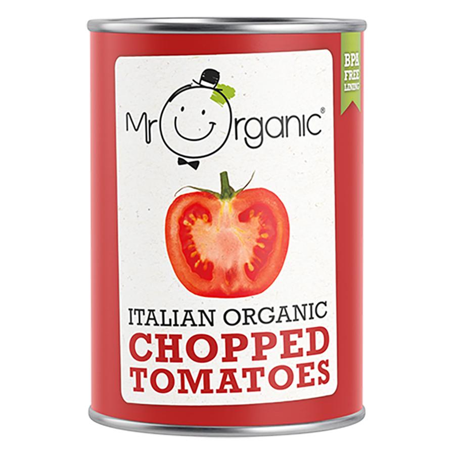 Mr Organic Chopped Tomatoes - 400g